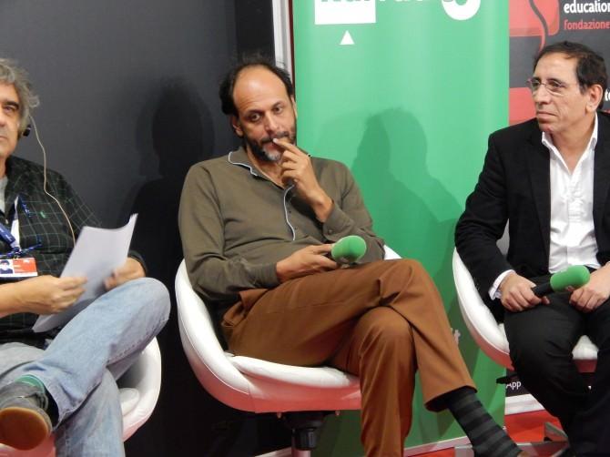 Luca Guadagnino, durante la trasmissione Hollywood Party