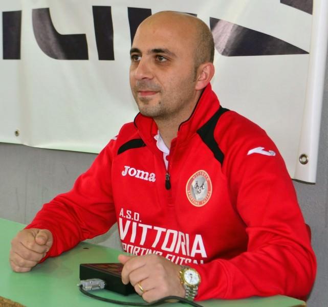 Luciano Di Vita direttore sportivo Vittoria Futsal
