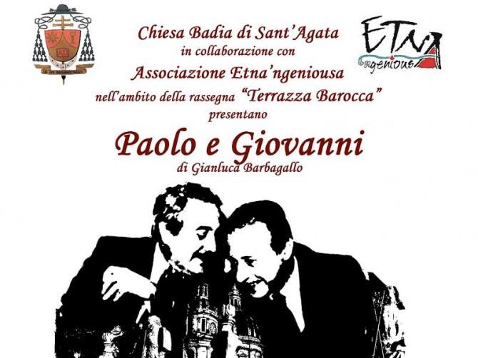 Paolo e Giovanni messinscena Salvatore Barbagallo