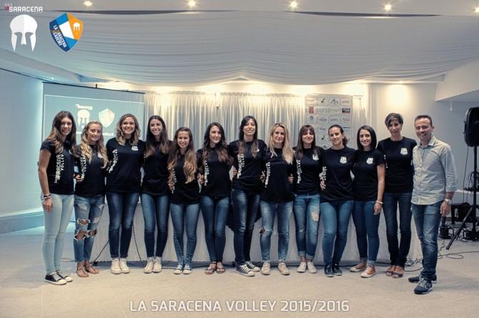Presentazione Saracena Volley 2015/2016