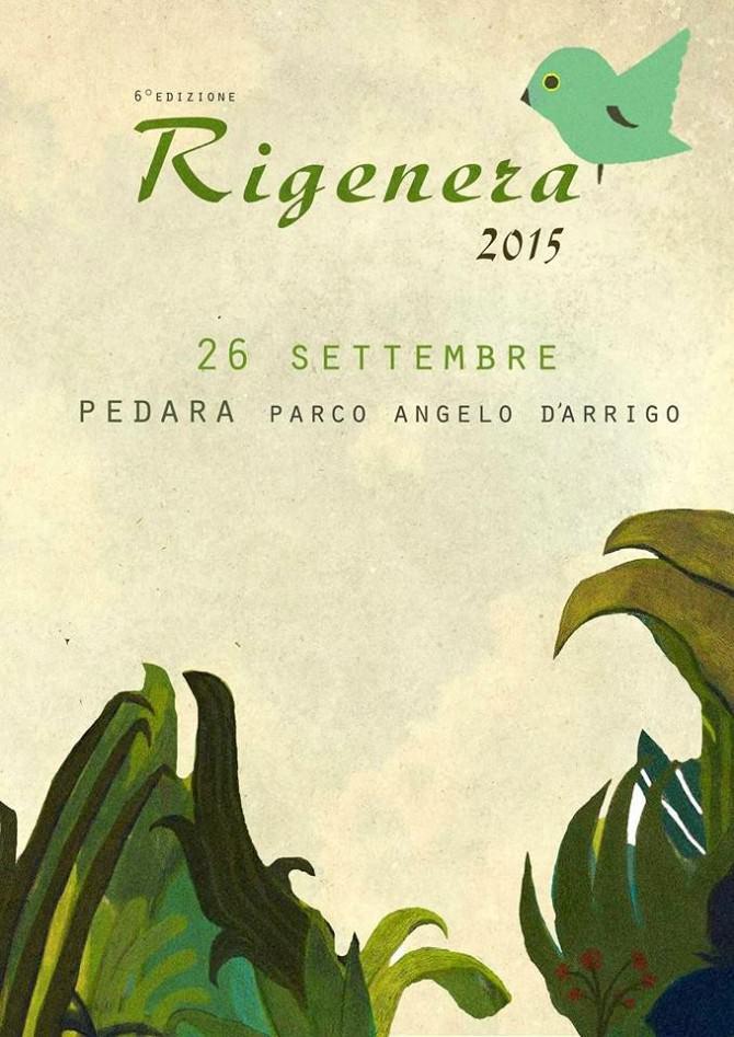 Rigenera 2015 Parco Angelo D'Arrigo