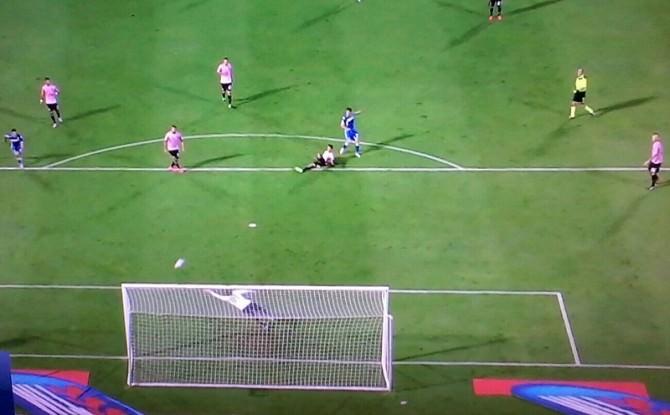 Il gol vittoria del Sassuolo