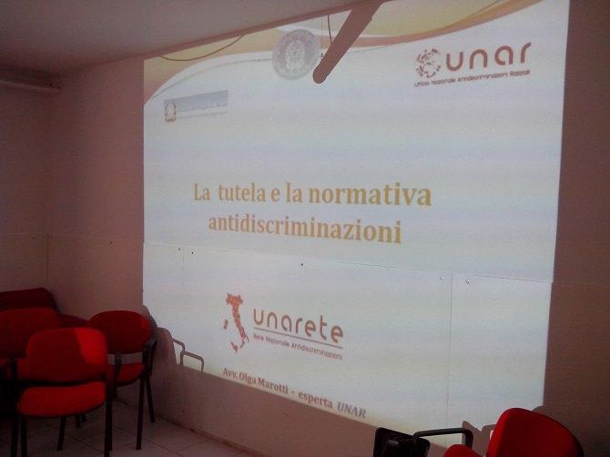 Caltanissetta, Croce Rossa Italiana e il progetto antidiscriminazione