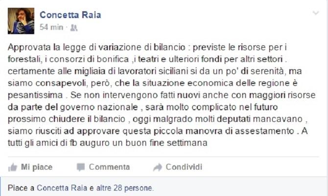 raia su facebook