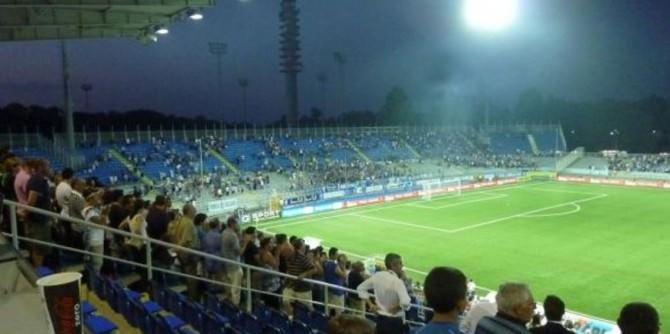 Lo stadio Silvio Piola di Novara.