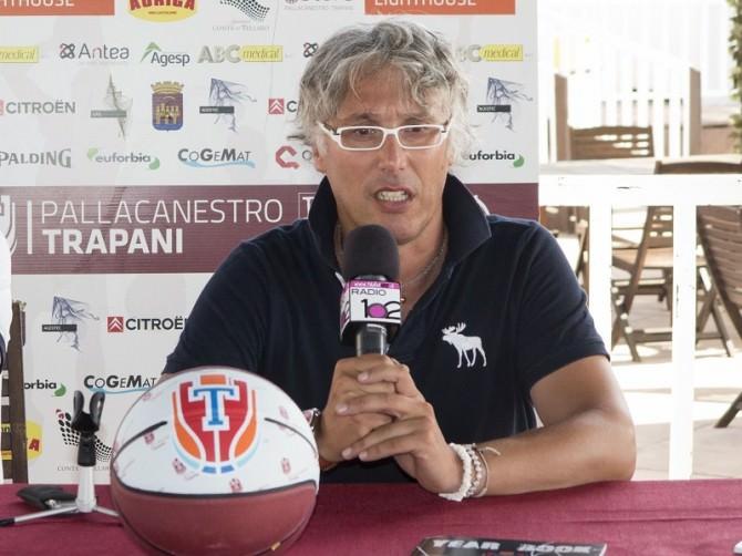 Julio Trovato amministratore delegato Pallacanestro Trapani