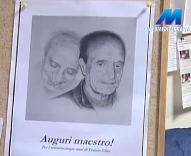75 anni maestro Franco Cilia