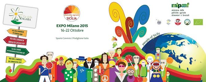 """Il Distretto degli Agrumi di Sicilia sbarca all'Expo di Milano con """"People of Sicily"""""""