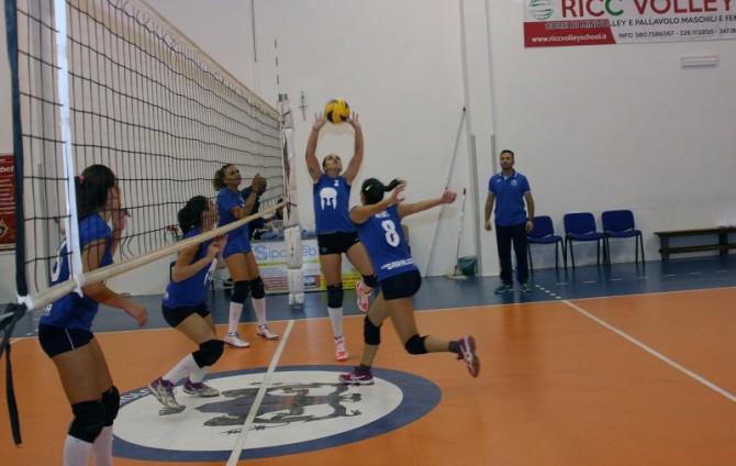 Allenamento Saracena Volley