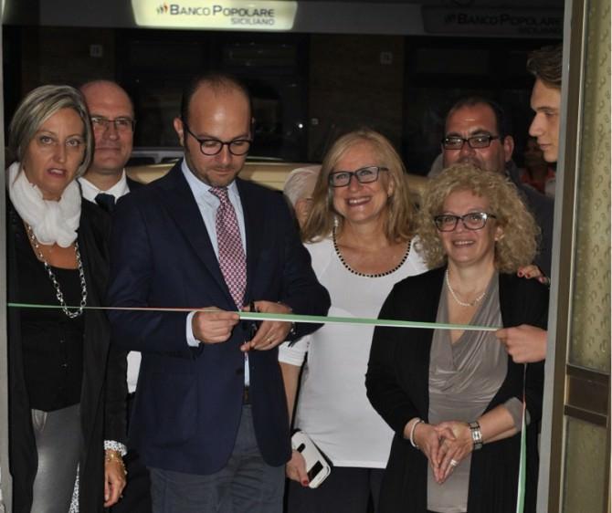 inaugurazione mostra pittorica Ninì Lombardo
