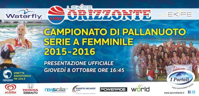 Locandina Presentazione ufficiale L'Ekipe Orizzonte