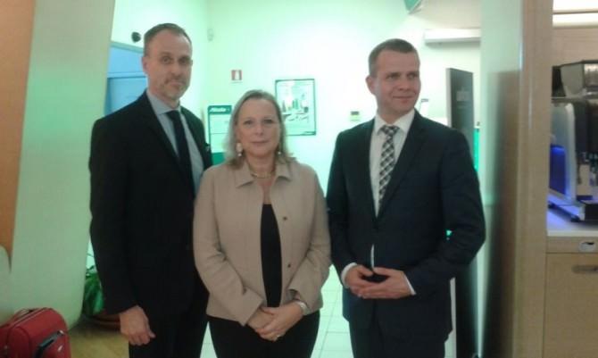 delegazione finlandese foto