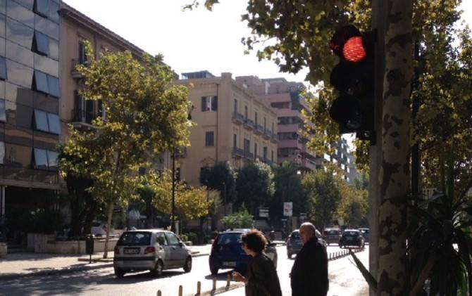 semaforo via Libertà