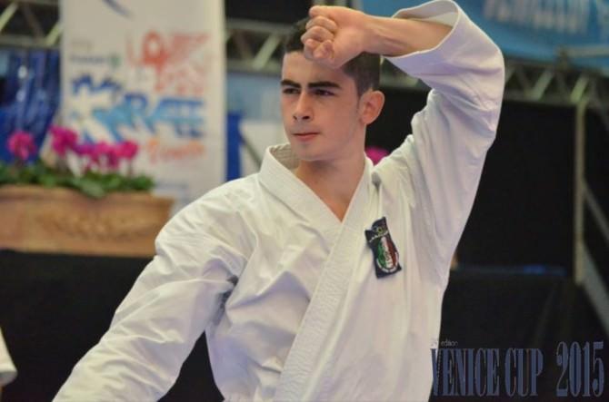 Giuseppe Panagia nazionale karate Venice Cup edizione 24 2015_1