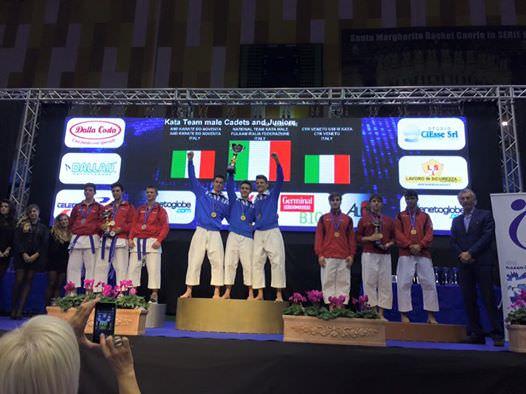 Giuseppe Panagia nazionale karate Venice Cup edizione 24 2015