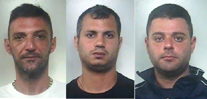 uomini arrestati per spaccio di droga