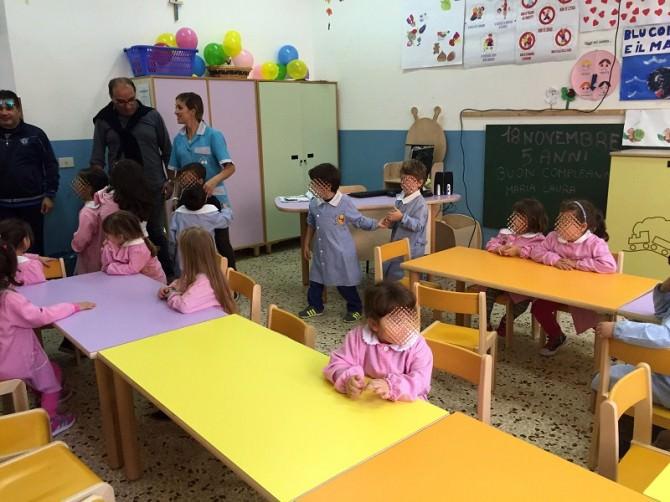 Bambini scuola elementare Lampedusa