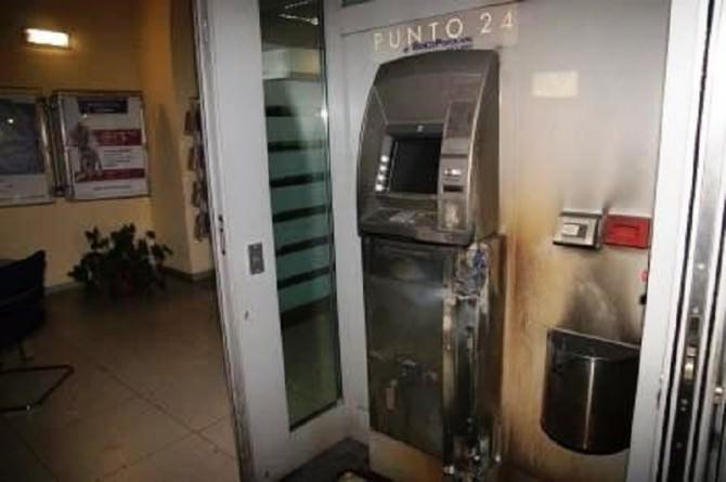 Bancomat scassinato 21 novembre 2015