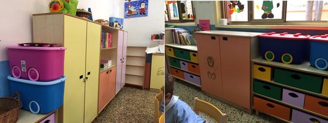 Nuovo arredo scuola elementare Lampedusa