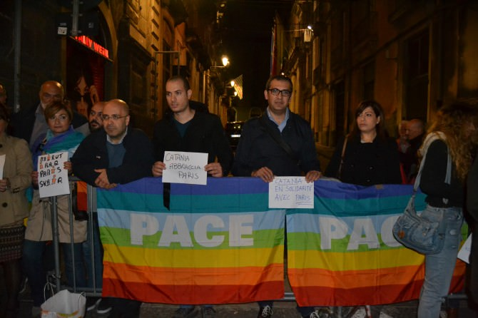 Catania per la pace