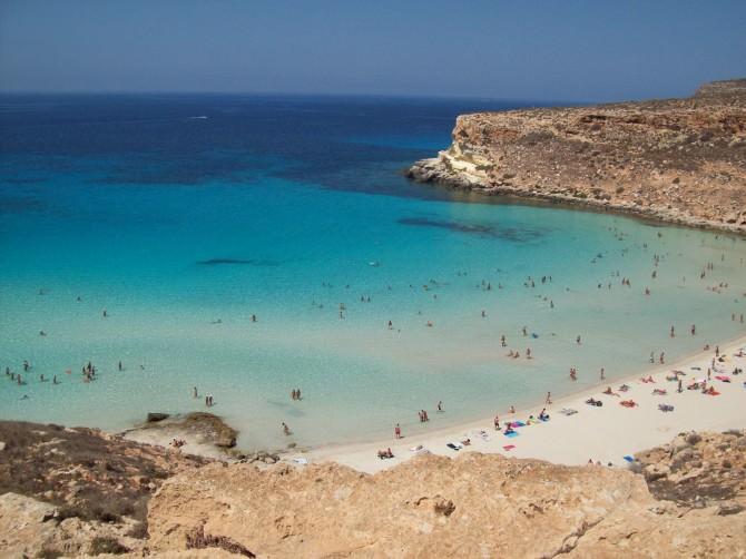 Spiaggia_Isola_dei_Coniglio_Lampedusa