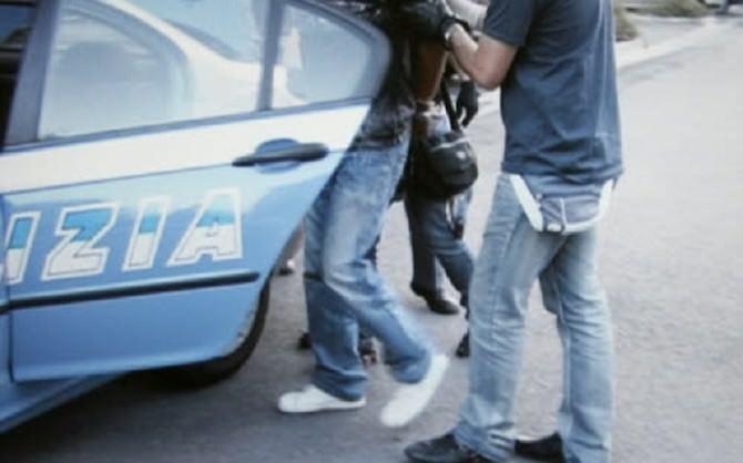 polizia manette