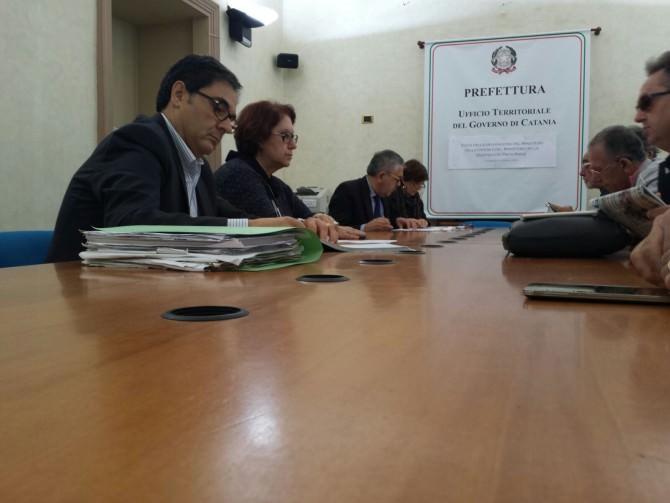 riunione Prefettura-sindacati lavoratori Bellini