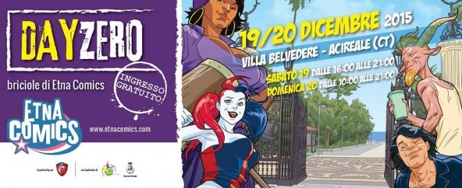 Etna Comics Day Zero 2016