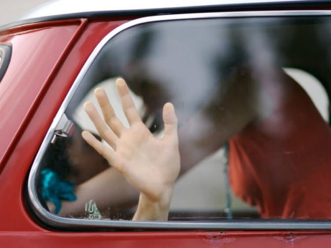 amanti in auto