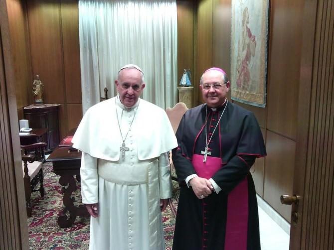 Papa Francesco e Monsignor Vito Rallo