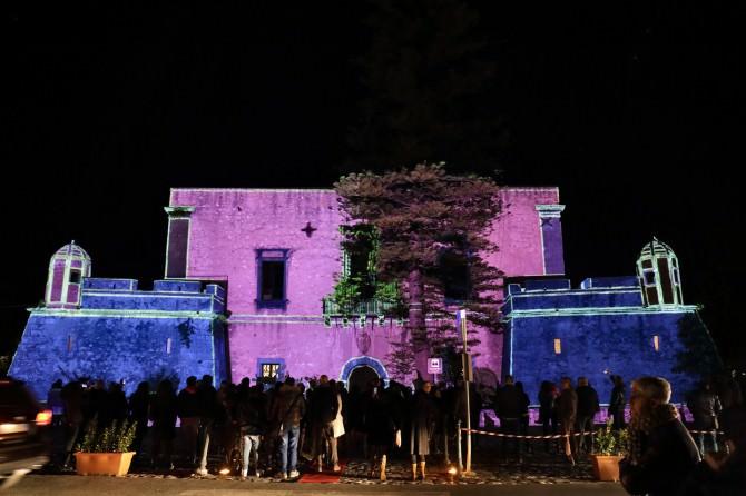 Video Mapping Castello Spadafora