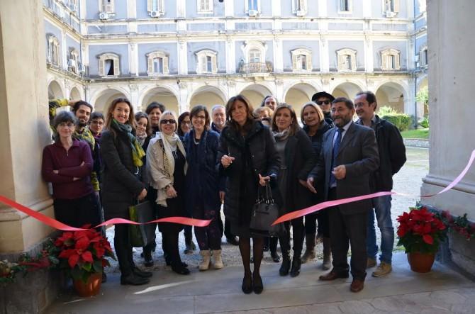 L'inaugurazione da parte del commissario straordinario della Provincia di Catania Paola Gargano