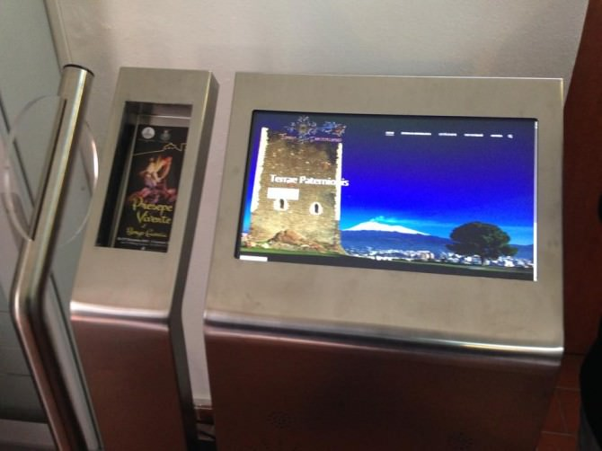 kiosk multimediale