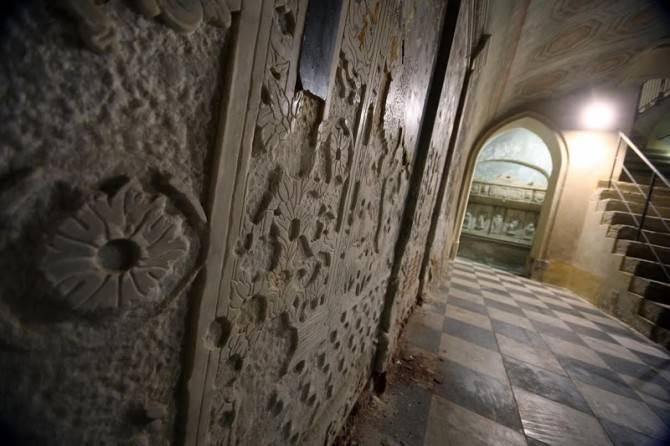Palermo 142014 ( FOTO PETYX PALERMO) cripta di san mamiliano