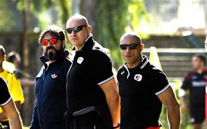 nella foto coach vittorio con coach II mario privitera e il prof Raffaele Marino