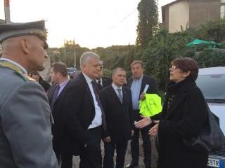 Il ministro dell'Ambiente Galletti in visita ad Aci Castello