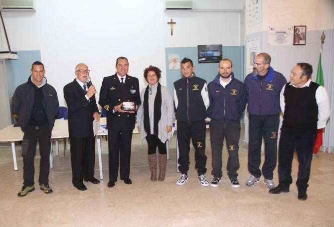 premiazione equipaggio marina militare italiana