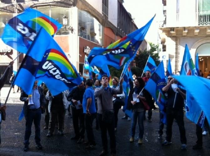 uil-protesta-sindacalisti