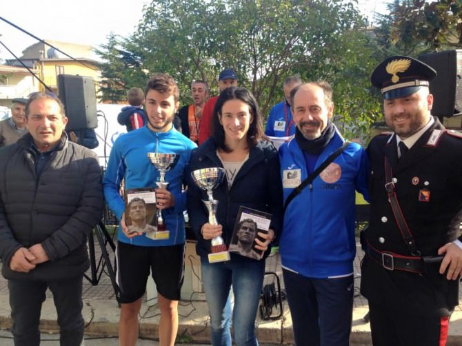 vincitori assoluti CORRI GODRANO Trofeo Pegaso Abacus Service 2015