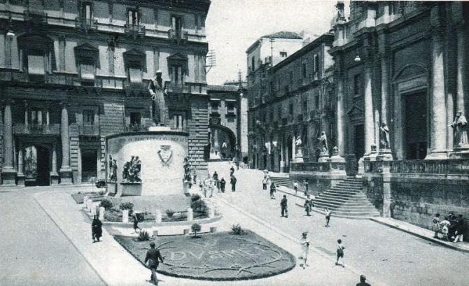 1937 piazza s.francesco e via crociferi