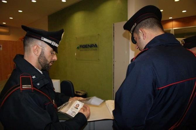 Carabinieri documento falso