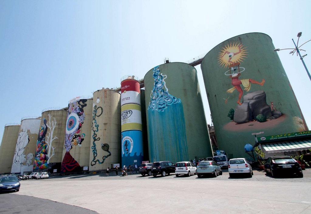 Silos Porto di Catania