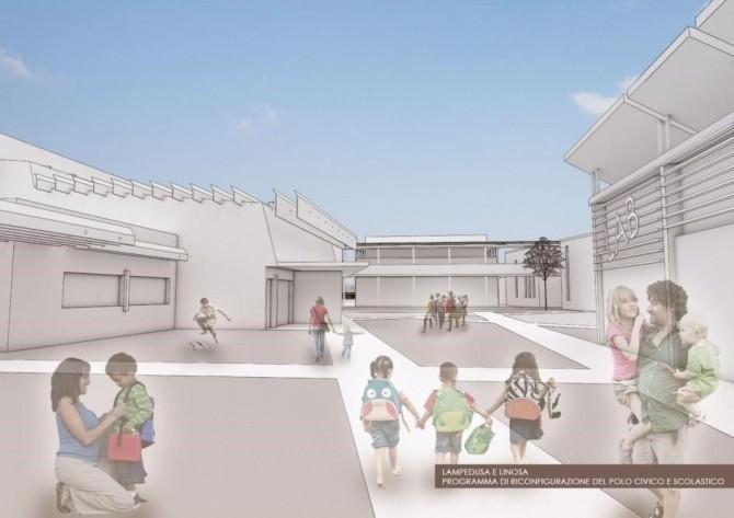 Lampedusa: progetto da 9 milioni per un comprensorio scolastico all'avanguardia