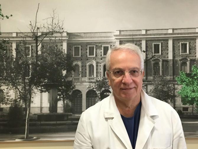 Giuseppe Ettore, direttore UOC Ginecologia Ostetricia del dipartimento Materno Infantile dell'ARNAS Garibaldi Nesima