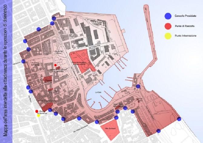 Mappa Area Interdetta