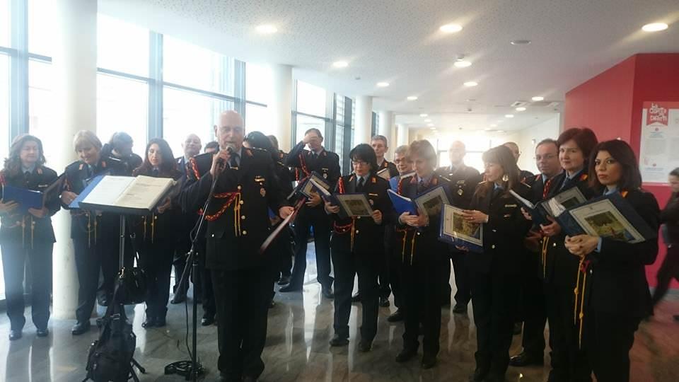 Polizia municipale concerto Di Cristina