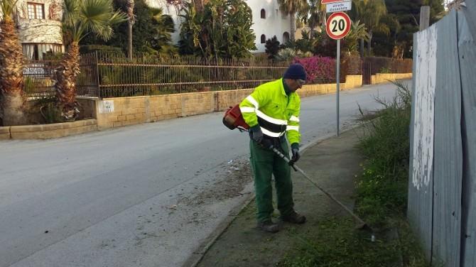 discerbamento villaggio mosè pulizia strade
