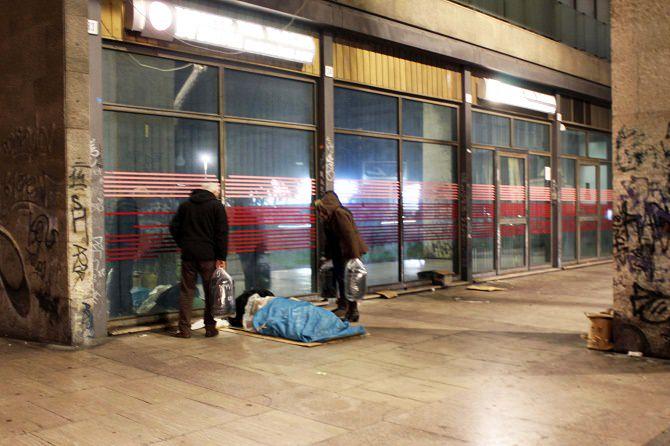 Catania, emergenza freddo: incrementata assistenza ai senzatetto