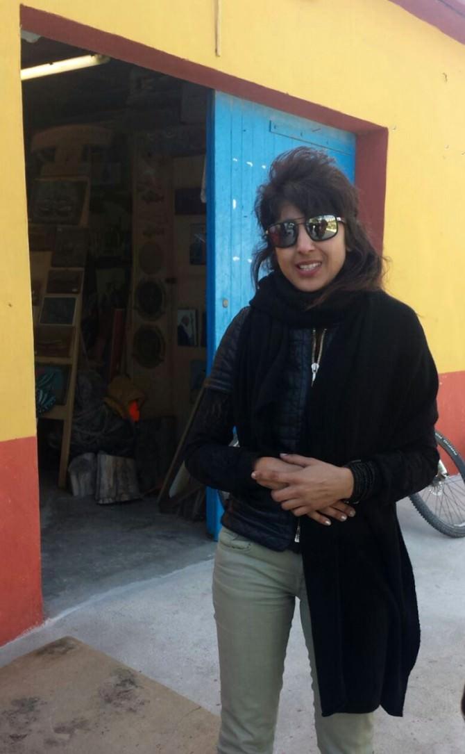 Lampedusa, Bea Kayani dona opera all'isola