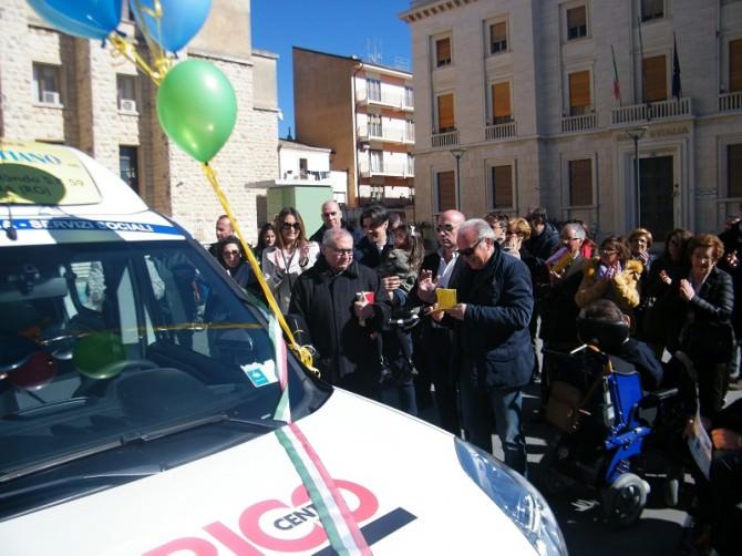 La PMG Italia ha donato oggi un Fiat Doblò al comune di Ragusa